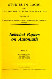 Selected Papers on Automath by R. P. Nederpelt
