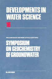 Symposium on Geochemistry of Groundwater by William Back