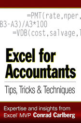 Excel for Accountants by Conrad Carlberg