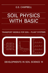 Soil Physics with BASIC by G. S. Campbell