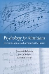 Psychology for Musicians by Andreas C. Lehmann