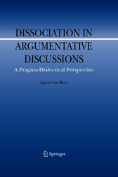 Dissociation in Argumentative Discussions by Agnes van Rees