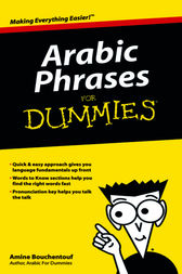 Arabic Phrases For Dummies by Amine Bouchentouf