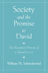 Society and the Promise to David by William M. Schniedewind