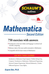 Schaum's Outline of Mathematica, Second Edition by Eugene Don
