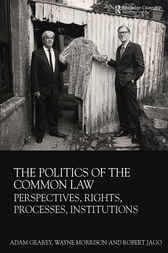 The Politics of the Common Law by Adam Gearey