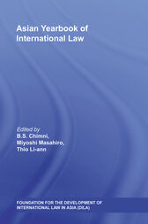 Asian Yearbook of International Law by B.S. Chimni