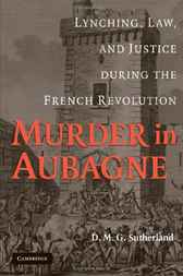 Murder in Aubagne by D. M. G. Sutherland