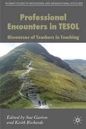 Professional Encounters in TESOL by Sue Garton