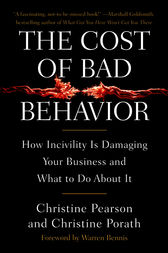 The Cost of Bad Behavior by Christine Pearson