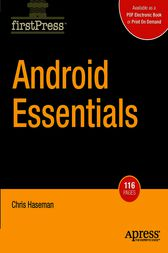 Android Essentials by Chris Haseman