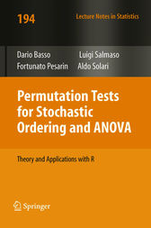 Permutation Tests for Stochastic Ordering and ANOVA by Dario Basso