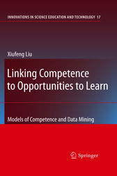 Linking Competence to Opportunities to Learn by Xiufeng Liu