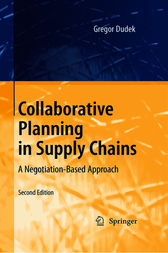 Collaborative Planning in Supply Chains by Gregor Dudek