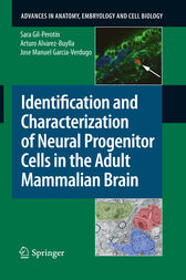Identification and Characterization of Neural Progenitor Cells in the Adult Mammalian Brain by Sara García Gil-Perotin
