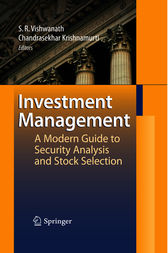 Investment Management by Ramanna Vishwanath