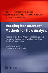 Imaging Measurement Methods for Flow Analysis by Wolfgang Nitsche