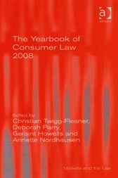 The Yearbook of Consumer Law 2008 by Deborah Parry