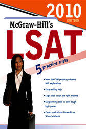 McGraw-Hill's LSAT, 2010 Edition by Curvebreakers
