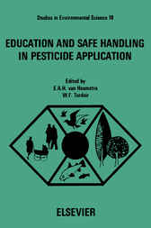 Education and Safe Handling in Pesticide Application by E. A. H. van Heemstra-Lequin