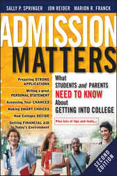 Admission Matters by Sally P. Springer