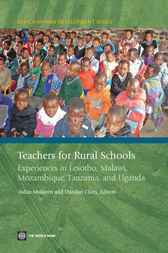Teachers for Rural Schools by World Bank