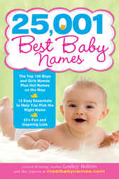 25,001 Best Baby Names by Lesley Bolton