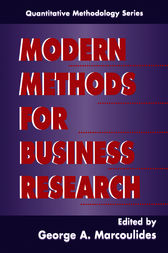 Modern Methods for Business Research by George A. Marcoulides