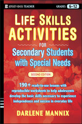 Life Skills Activities for Secondary Students with Special Needs.