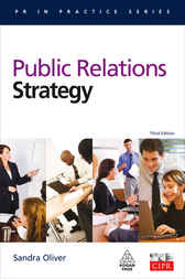 Public Relations Strategy by Sandra M Oliver