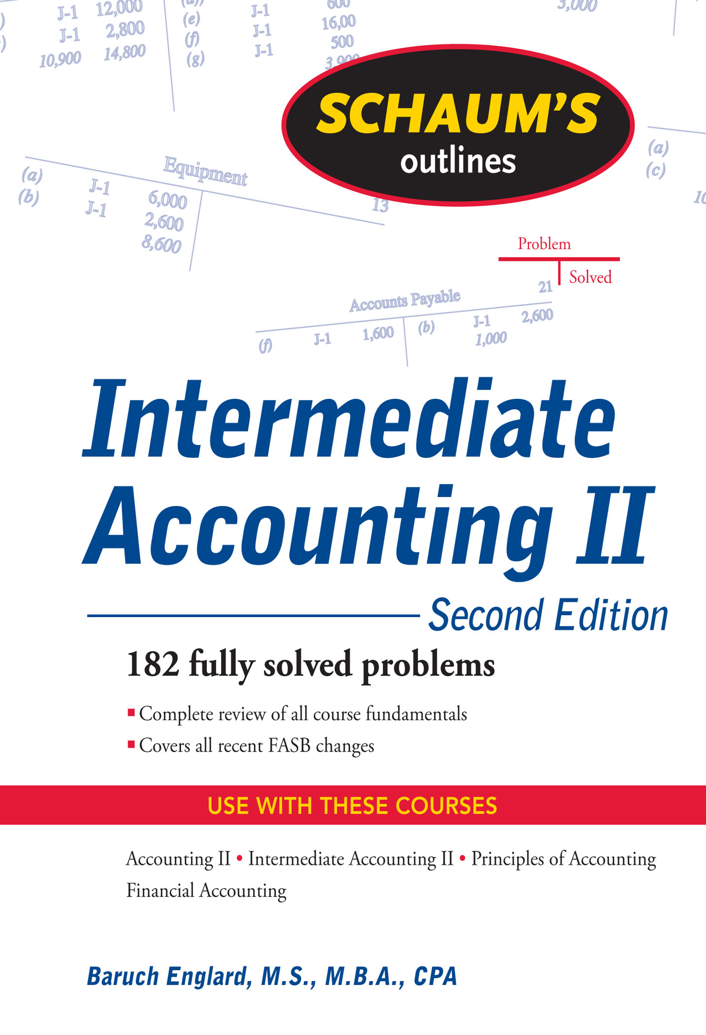 Download Ebook Schaum's Outline of Intermediate Accounting II, 2ed (2nd ed.) by Baruch Englard Pdf