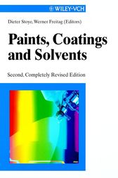 Paints, Coatings and Solvents by Werner Freitag