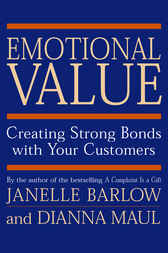 Emotional Value by Janelle Barlow