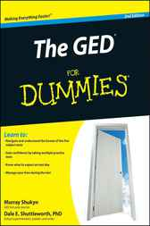 The GED For Dummies by Murray Shukyn