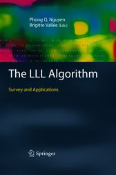 The LLL Algorithm by Phong Q. Nguyen