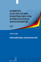 Internationales Insolvenzrecht by Stefan Smid