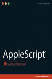 AppleScript by Mark Conway Munro