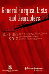 General Surgical Lists and Reminders by Brian Miller