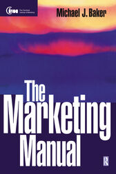 The Marketing Manual by Michael Baker
