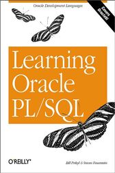 Learning Oracle PL/SQL by Bill Pribyl