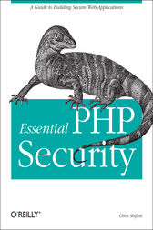 Essential PHP Security by Chris Shiflett