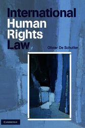 International Human Rights Law by Olivier De Schutter