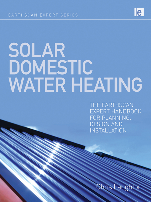Download Ebook Solar Domestic Water Heating by Chris Laughton Pdf
