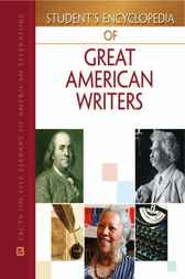 Student's Encyclopedia of Great American Writers Set by Patricia M. Gantt