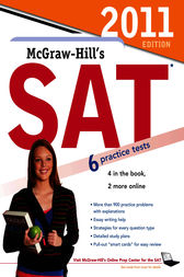 McGraw-Hill's SAT, 2011 Edition by Christopher Black