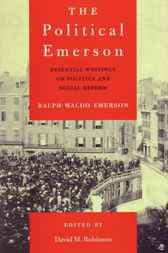 The Political Emerson by David M. Robinson