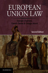 European Union Law by Damian Chalmers