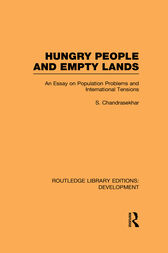 Hungry People and Empty Lands by S. Chandrasekhar