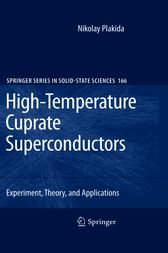 High-Temperature Cuprate Superconductors by Nikolay Plakida