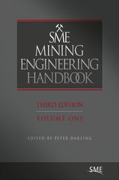SME Mining Engineering Handbook, Third Edition
